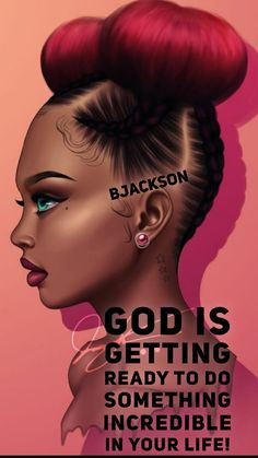 With a grateful heart, stay in an attitude of expectancy! Black Love Art, Black Girl Art, Black Is Beautiful, Black Girl Magic, Black Girl Quotes, Black Women Quotes, Encouragement, Black Art Pictures, Black Artwork