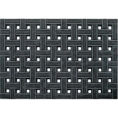 Apache Mills Weave Utility Gray 24 in. x 36 in. Recycled Rubber Scraper Mat-60-945-1719-20000300 at The Home Depot $13