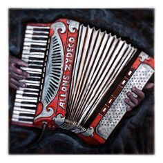 Allons Zydeco!  Love me some Accordion action; let the good times roll!     Relief Carving on Wood by Kelly Guidry #kellyguidry