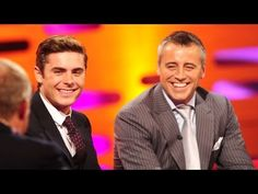 Matt Le Blanc and Zac Efron on Being Recognised by Fans - The Graham Norton Show