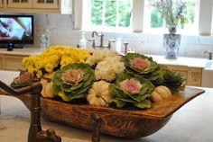 dough bowl arrangement...