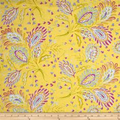 Dena Designs Sunshine Linen Blend Heather Yellow  This lightweight linen blend fabric has a luxurious hand with a full-bodied drape. Perfect for fine linens, heirloom projects, blouses, shirts, fuller skirts & dresses, light jackets, and home decor items. Machine wash gentle and dry on low for softness or dry clean to maintain original texture. Colors include pink, blue, white and yellow.