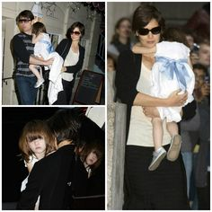 Hair - cabelo - pelo - beautiful - bonita - hermoso - moda - look - style - estilo - inspiration - inspiração - inspiración - fashion - elegant - elegante - Dress - vestido - Luli & Me - White - branco - blanco - Silver Shoes - Bisgaard - sapato prata - child - criança - baby - bebê - daughter - filha - hija - father - pai - padre - dad - papai - papá - mother - mãe - madre - mom - mamãe - mamá - happy family - família feliz - September - 2008 - Katie Holmes - Suri Cruise - Tom Cruise
