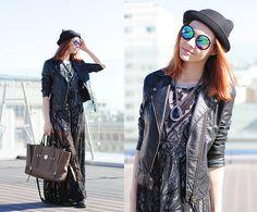 Asos Dress, Zero Uv Sunglasses, 3.1 Phillip Lim Bag