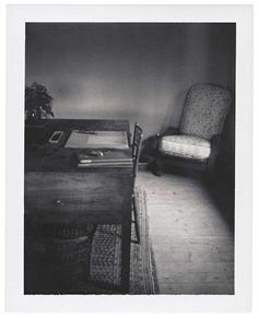 Virginia Woolf's desk by Patti Smith.