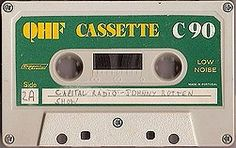 QHF C90 Magnetic Tape, Cassette Tape, Mixtape, Compact, Objects, Culture, Music, Art, Musica