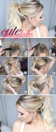 Cute ponytale