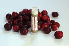 Cranberry Messy Little Smiles Organic Lip Balm