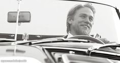 Charlie Hunnam love that smile