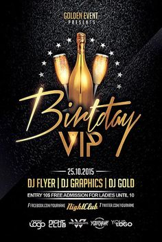 Birthday Party Flyer Template Party Flyers Pinterest Party - Free birthday flyer templates