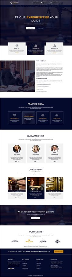 Prolaw Legal #Law #Firm is a clean and modern #Photoshop #template for attorneys, justice, law, lawyer or law firm websites download now➩ https://themeforest.net/item/prolaw-legal-law-firm-attorney-psd-templates/19235458?ref=Datasata