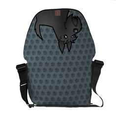 Cartoon Scottish Terrier Courier Bags $111.00