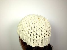 How to Loom Knit a Popcorn Hat (DIY Tutorial) - YouTube