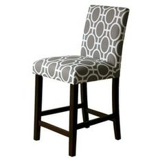 Brookline Tufted Counter Stool But In The Color Laguna For