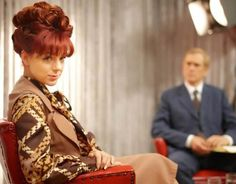 Sheridan Smith in 2012 starring as Charmain Biggs in the ITV drama Mrs Biggs. Behind her is Danny Mays, playing the iconic role of Charmain's infamous ex-husband Ronnie Biggs.