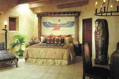 Home Design and Decor , Egyptian Interior Designs For Homes : Bedroom Egyptian…