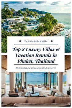 Top 8 Luxury Villas & Vacation Rentals in Phuket, Thailand