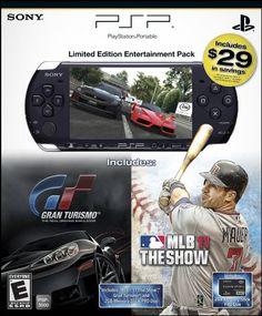 PlayStation Portable Limited Edition MLB 11  Gran Turismo Entertainment Pack ** Find out more about the great product at the image link.