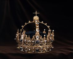 Charles IX of Sweden's funeral crown from the 1611th
