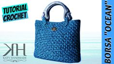 "[BORSE] Tutorial uncinetto borsa ""Ocean"" | Crochet bag || Katy Handmade"