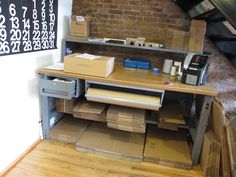 Large home packing station