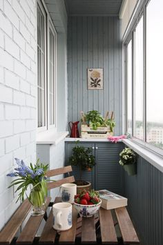 Home OfficeBalcony design is unquestionably important for the look of the house. There are therefore many beautiful ideas for balcony design. Here are many of the best balcony design. Narrow Balcony, Small Balcony Design, Interior Balcony, Interior And Exterior, House With Balcony, Balcony Garden, Apartment Balconies, Interior Decorating, Interior Design