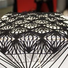 Dayum I need to get me one of those laser cutters  #design #ddw15 #dutchdesignweek #styleblogger #lasercut #beautiful #love by howdy.kitty