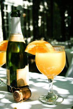 Sunday morning mimosas ...