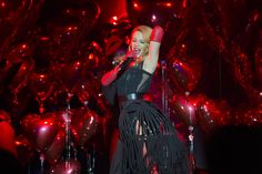 Kylie Minogue performing at the annual amfAR The Foundation for AIDS Research Inspiration Gala in São Paulo  Kevin Tachman / BackstageAT   More images: http://bkstge.at/amfARsp2015