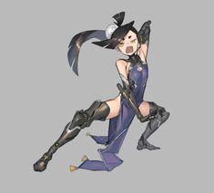 """""""Last Generation Ninja: Liquid Metal"""" Female Character Design, Character Creation, Character Design Inspiration, Character Concept, Character Art, Concept Art, Fantasy Characters, Female Characters, Anime Characters"""