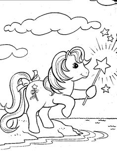 My Little Pony Coloring Pages 7