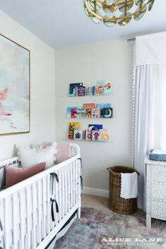 Neutral Nursery - Alice Lane Home Interior Design