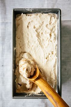 cardamom ice cream with cinnamon swirl