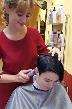 Short Hair Cuts For Women, Long Hair Cuts, Short Hair Styles, Forced Haircut, Shaved Hair Women, Crop Hair, Cut My Hair, Pixie Haircut, Beauty Shop