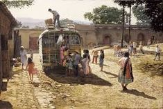 Image result for clark hulings chimayo painting
