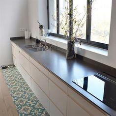 Fen tre panoramique cuisine pour notre maison for Cuisine lineaire 4 metres
