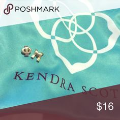 Kendra Scott charm bundle Perfect bundle if you are a member of Phi Mu sorority and A fun way to wear you sorority's letters! Here is a silver phi and mu charm by Kendra Scott! Kendra Scott Jewelry Necklaces
