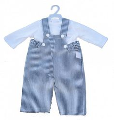 Boy Doll Clothes: Overall