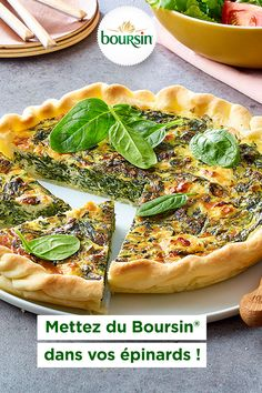 Homemade Hummingbird Food Discover Quiche Boursin et Épinards Crockpot Recipes For Two, Veggie Soup Recipes, Lunch Recipes, Easy Dinner Recipes, Cooking Recipes, Homemade Hummingbird Food, Italian Chicken Recipes, Healthy Breakfast Recipes, Light Recipes