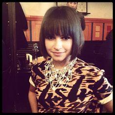 Miroslava Duma love that hair