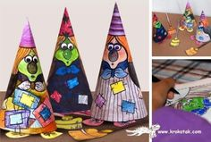 PAPERMAU: Halloween Special - Easy-To-Build Witch Paper Doll For Kidsby Krokotak