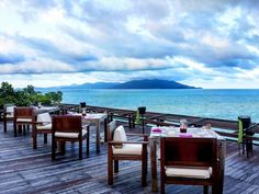 View of Koh Pha-Ngan from Dining on the Rocks