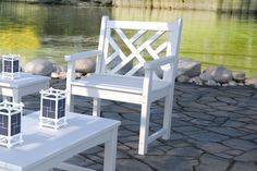 """POLYWOOD™ Chippendale 24"""" Bench – Leisure Depot"""