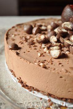 Maijan makia: Suklaajuustokakku #2 Mousse Cake, Cheesecakes, Lorem Ipsum, Tiramisu, Tart, Food And Drink, Pudding, Baking, Ethnic Recipes