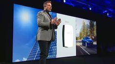 Elon Musk Debuts the Tesla Powerwall  #Energy  #SolaPower  #Nature