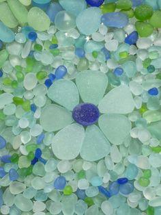 sea glass art