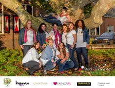 """Fotoshoot """"Beauty comes in all sizes"""" 2014 met Studio Milaan, Loefashionxl en Groot Gelijk."""