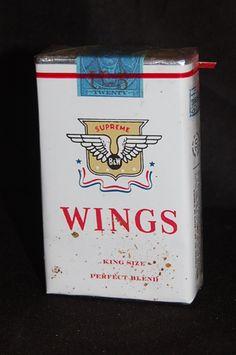 Pall Mall, Vending Machine, Wings, Packing, Vintage, Bag Packaging, Vintage Comics, Feathers, Feather