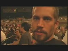 Actor Paul Walker: MMA Fan