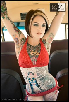 Ruca.  Armpit candy tattoos please me.